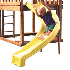Swing-N-Slide  Polyethylene  Slide