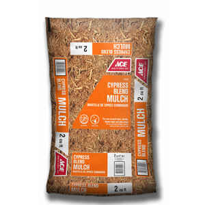 Ace  Brown  Cypress Blend  Mulch  2 cu. ft. 12 sq. ft.