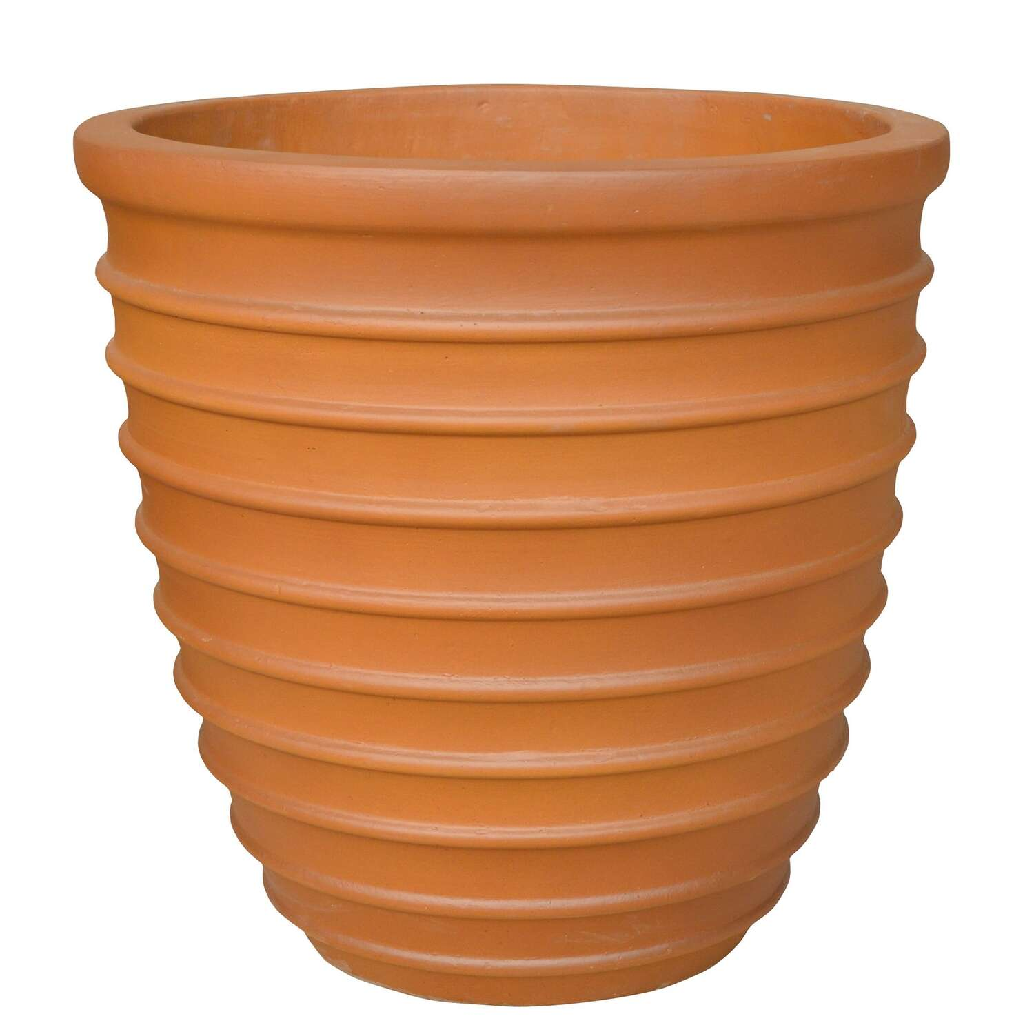 Southern Patio  10.24 in. H x 10 in. W Ceramic  Beehive  Planter  Terracotta