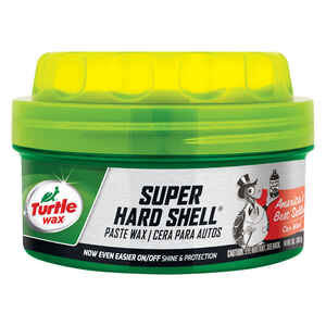 Turtle Wax  Super Hard Shell  Wax  Automobile Wax  14 oz. For All Finishes