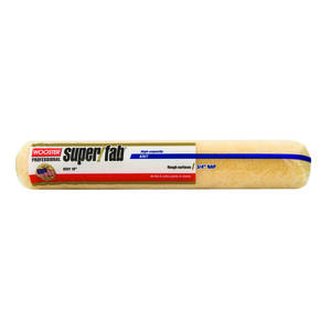 Wooster  Super/Fab  Knit  3/4 in.  x 18 in. W Regular  Paint Roller Cover  1 pk