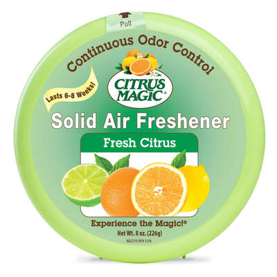 Citrus Magic Citrus Scent Air Freshener 8 oz. Solid