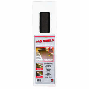 Surface Shields  Pro Shield  Surface Protection  2 mil  x 24 ft. W x 20 ft. L Rolled Matting  Black