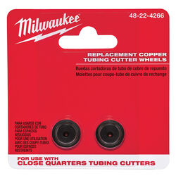 Milwaukee Close Quarters Replacement Cutter Wheel Black 2 pc.