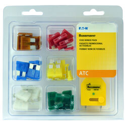 Bussmann ATC Blade Fuse Assortment 42 pk