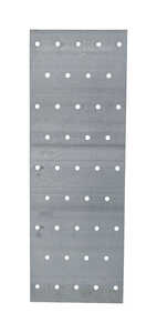 Simpson Strong-Tie  0.04 in. W x 9 in. H x 3.1 in. L Galvanized  Steel  Tie Plate
