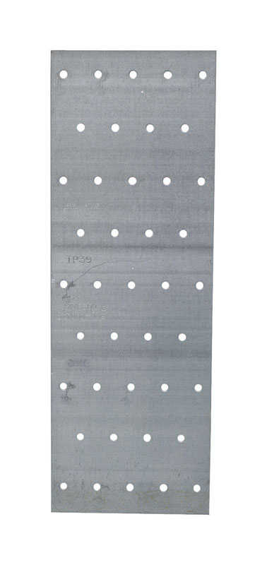 Simpson Strong-Tie  9 in. H x 0.04 in. W x 3.1 in. L Galvanized  Steel  Tie Plate