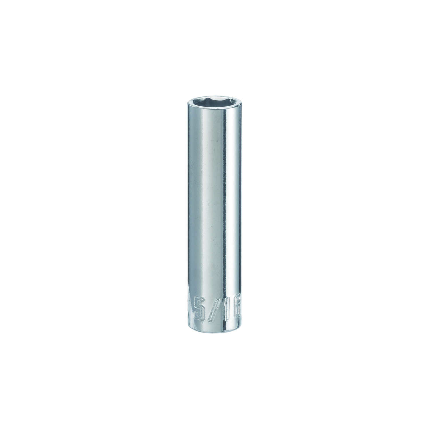 Craftsman  5/16 in.  x 1/4 in. drive  SAE  6 Point Deep  Socket  1 pc.