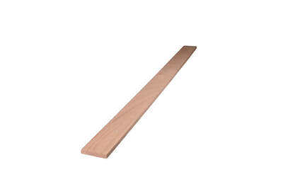 Alexandria Moulding  2 in. W x 2 ft. L x 1/4 in.  Oak  Board