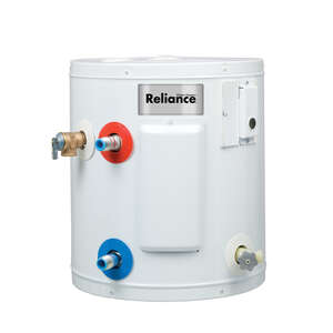 Reliance  Electric  Water Heater  15-1/4 in. H x 14-1/4 in. L x 14-1/4 in. W 6 gal.