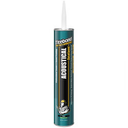 Titebond GREENChoice White Elastomeric Silicone Sealant 28 oz.