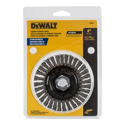 DeWalt 3 in. Dia. x 5/8-11 in. Carbon Steel Cup Brush 14000 rpm 1 pc.