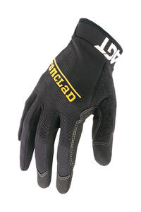 Ironclad  Men's  Synthetic Leather  Work  Gloves  Black  XXL  1 pair