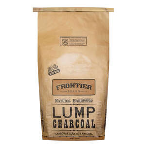 Frontier  Natural  Hardwood  Lump Charcoal  20 lb.