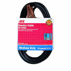 Ace  12 ft. 10 Ga. Jumper Cable  200 amps