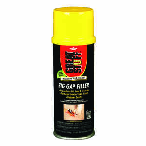 GREAT STUFF  Ivory  Polyurethane Foam  Insulating Sealant  12 oz.