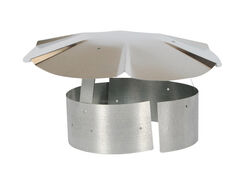 Imperial Manufacturing  Galvanized  Steel  Chimney Rain Cap