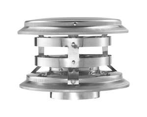 Duravent  3 in. Dia. Galvanized/Stainless Steel  Termination Cap