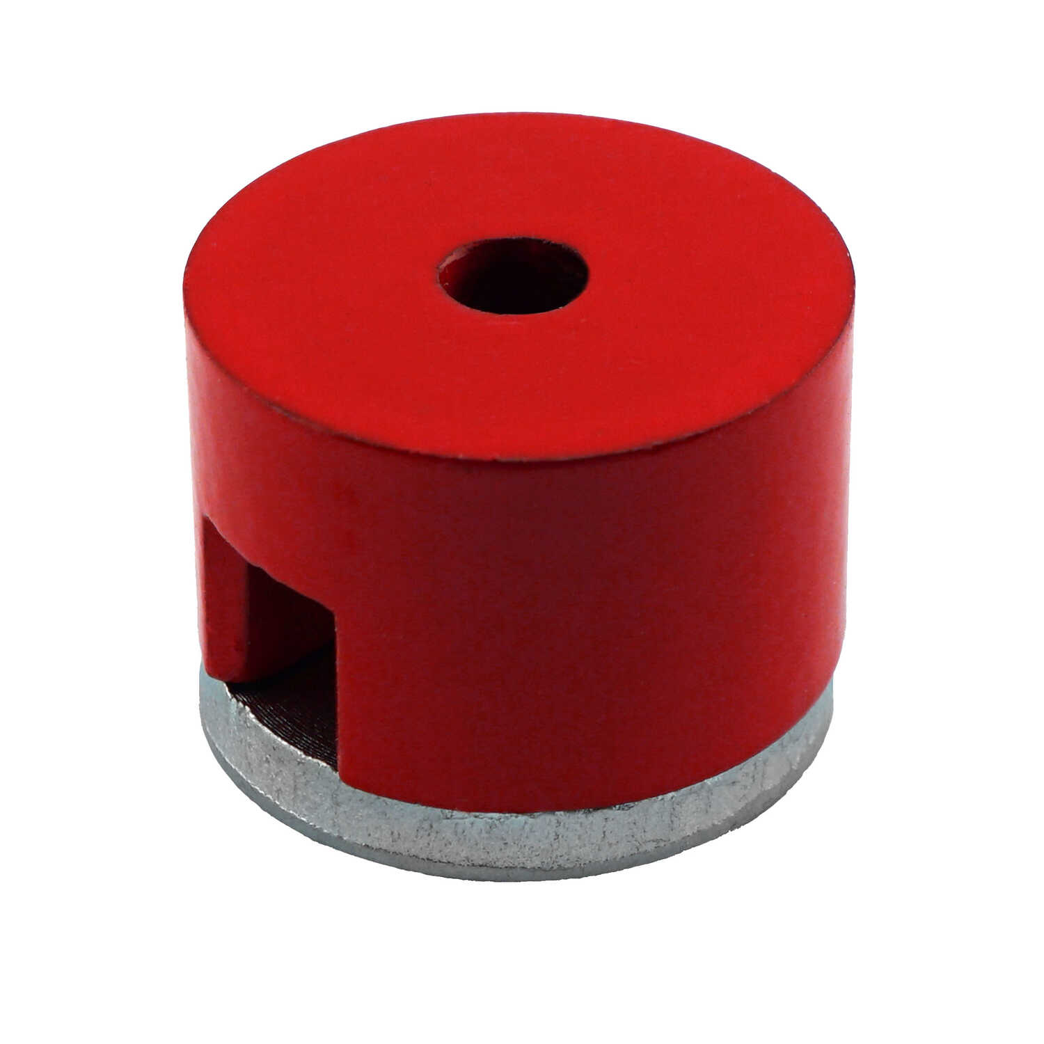 Master Magnetics  1 in. Alnico  Work Holding Magnet  6 lb. pull 5.5 MGOe Red  1 pc.