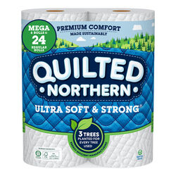Quilted Northern  Toilet Paper  6 roll 328 sheet