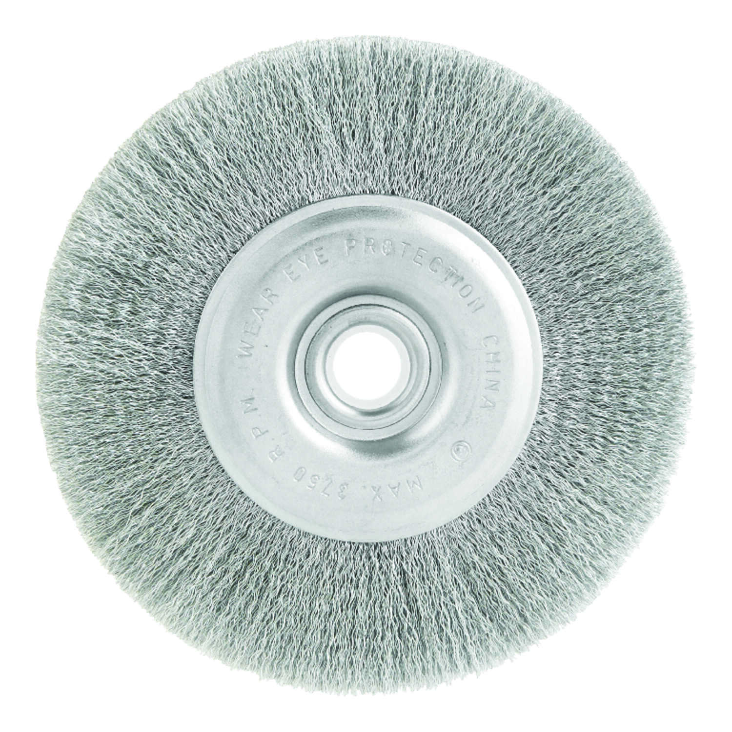 Ace  5 in. Fine  Crimped  Wire Wheel Brush  Steel  3750 rpm 1 pc.