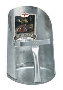 Miller  Little Giant  Aluminum  6 in. W x 8 in. L Scooper