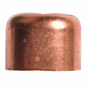 Elkhart  3/8 in. Sweat   x 3/8 in. Dia. Cap  Copper  Cap