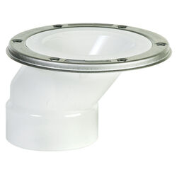 Sioux Chief FullFlush PVC Offset Closet Flange N/A in.
