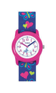 Timex  Unisex  Round  Pink/Purple  Watch  Analog  Water Resistant