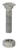 YardGard  5/16 in. Dia. x 1-1/4 in. L Galvanized  Steel  Carriage Bolt  20 pk