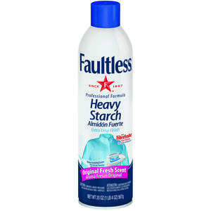 Faultless  Fresh Scent Heavy Starch  Spray  20 oz.