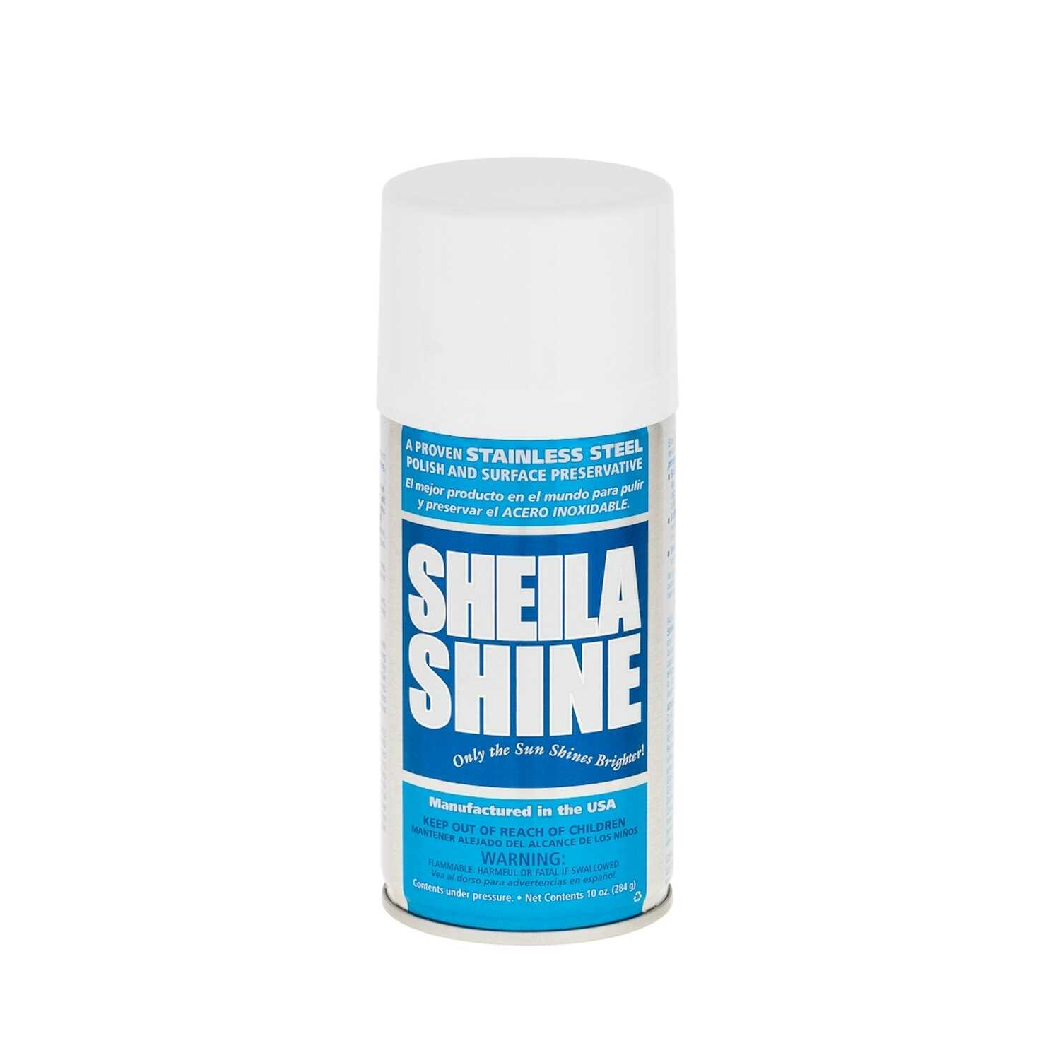 a575f748a Sheila Shine No Scent Stainless Steel Cleaner   Polish 10 oz. Spray - Ace  Hardware