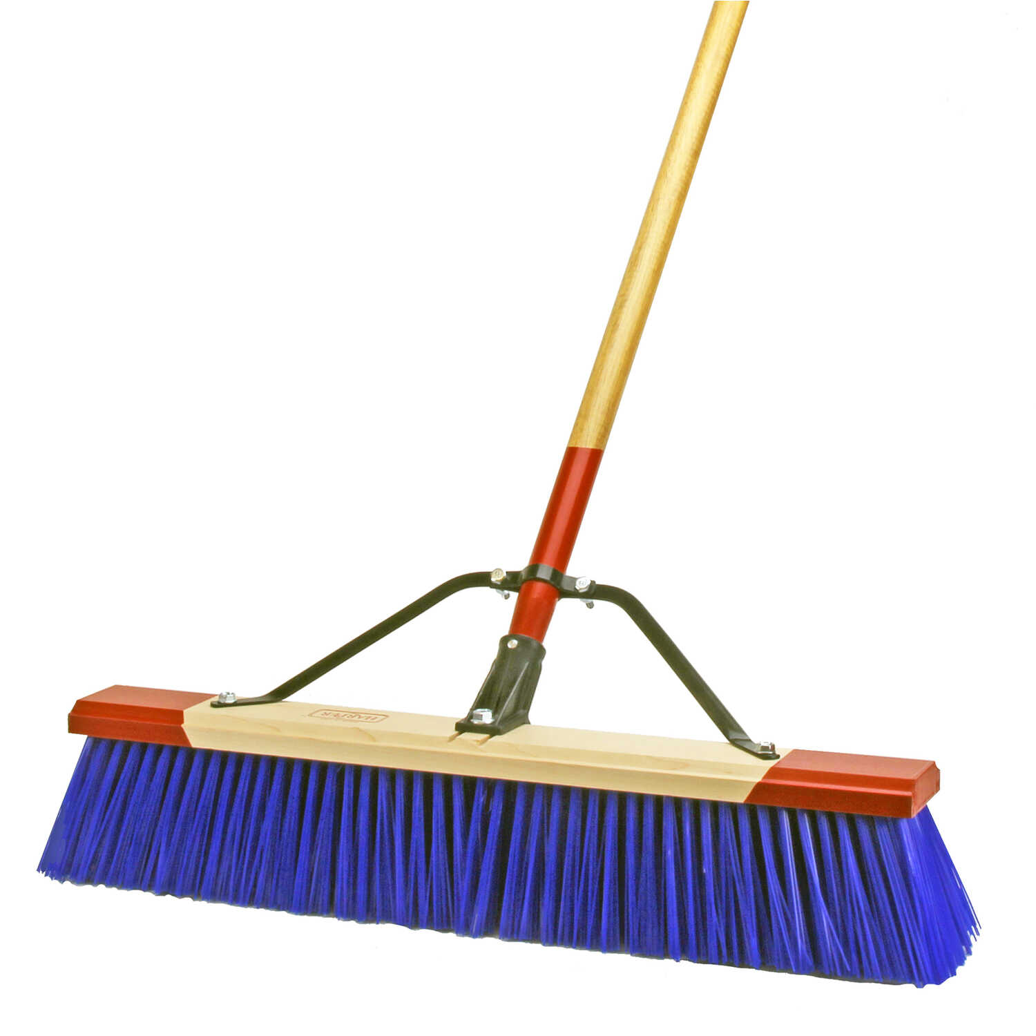 Harper  Push Broom  24 in. W x 60 in. L Synthetic