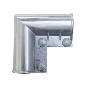 YardGard  1.63 in. L Galvanized  Aluminum  Gate Ell  1 pk