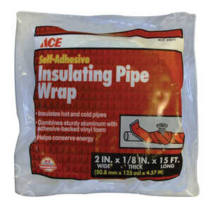Ace  2 in. Pipe Insulation  15 ft. L