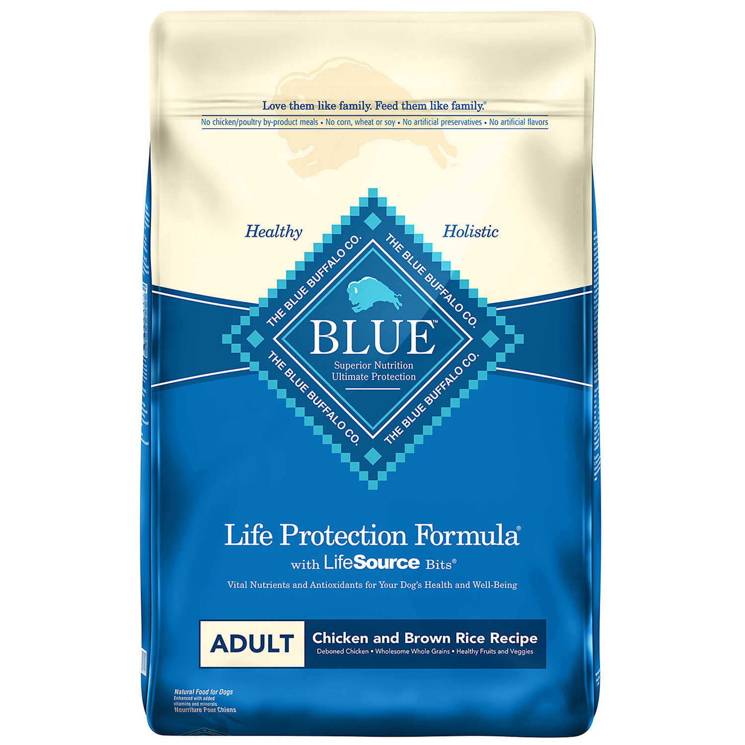 Blue Buffalo  Life Protection Formula  Chicken and Brown Rice  Dog  Food  30 lb.