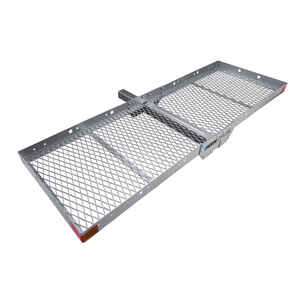 Reese  Silver  Hitch Mount  Cargo Carrier  1 pk