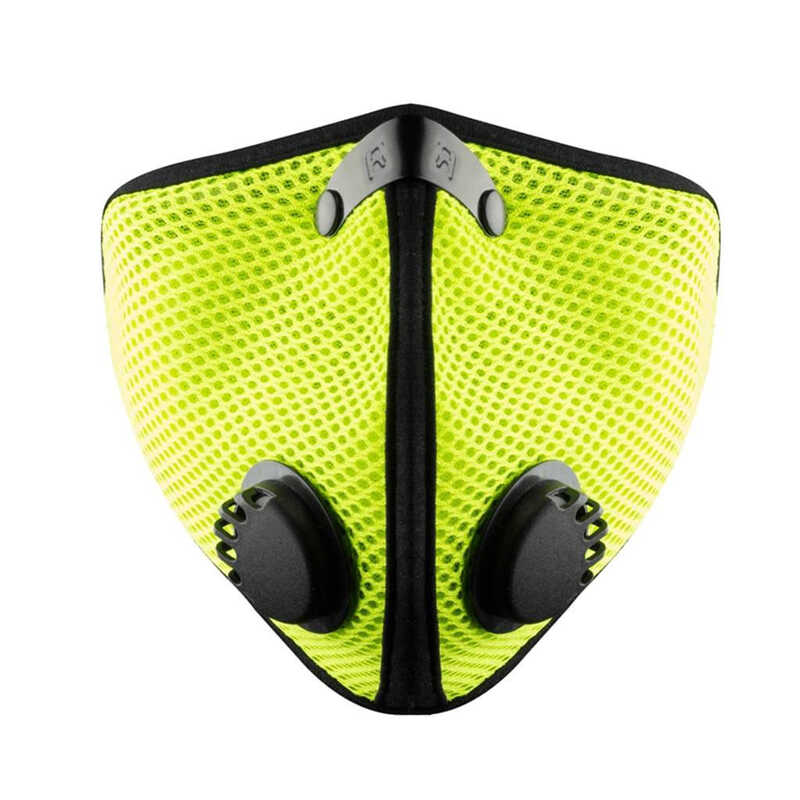 RZ Mask  Multi-Purpose  Air Filtration Mask  M2  Valved Green  XL  1 pk