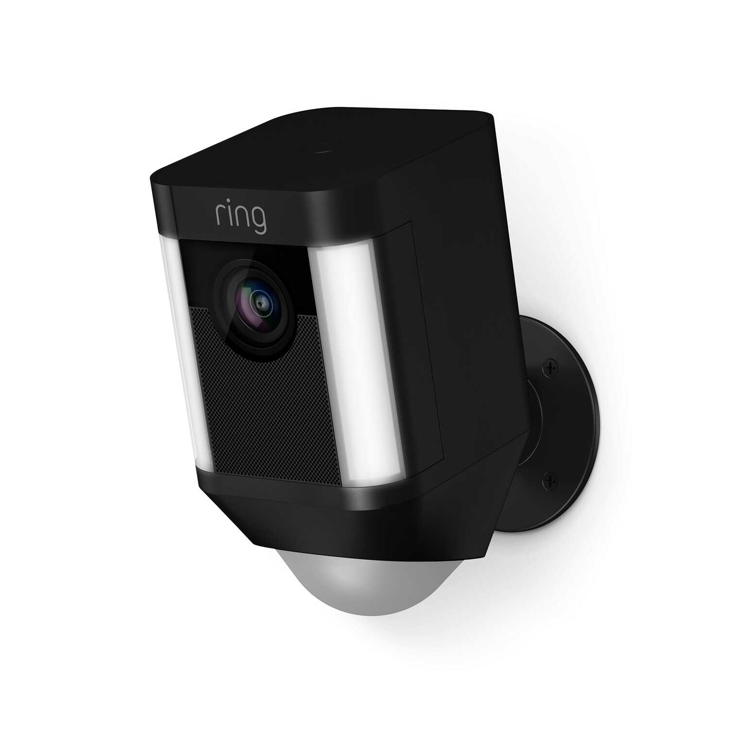 Ring  Spotlight Camera  Battery Powered  Outdoor  Black  Wi-Fi Security Camera