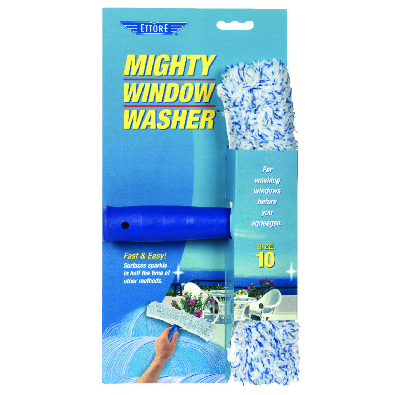 Ettore Mighty Window Washer 10 In Plastic Window Squeegee Ace