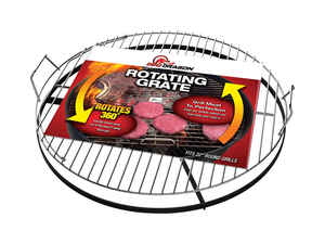 BBQ Dragon  Steel  Rotating Grill Grate  22 in. W x 4.75 in. H