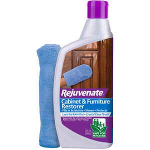 Rejuvenate  No Scent Cabinet & Furniture Restorer  13 oz. Liquid