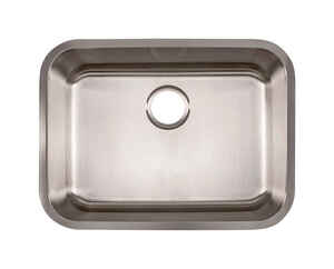 Kindred  Stainless Steel  Undermount  24-1/2 in. W x 18-1/2 in. L One Bowl  Kitchen Sink