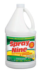Spray Nine  No Scent Cleaner and Disinfectant  1 gal.