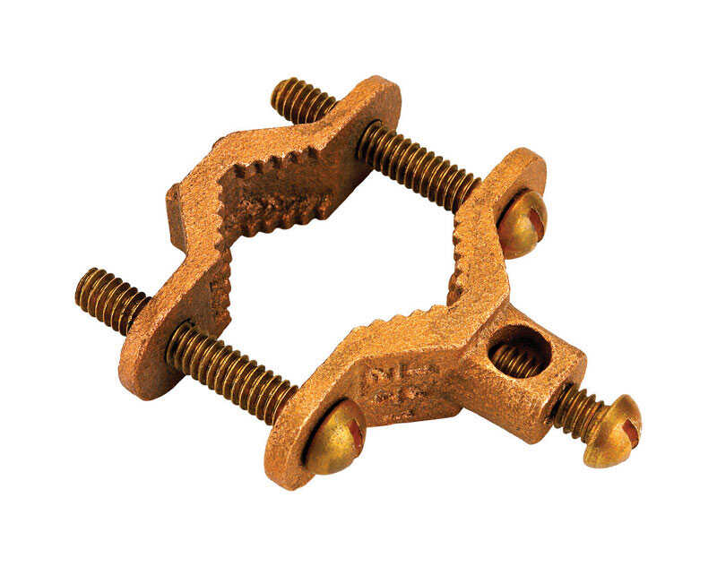 Home-Flex  1/2 in. to 3/4 in. Brass  Bonding Clamp