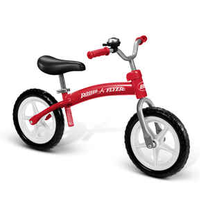 Radio Flyer  Unisex  11-1/2 in. Dia. Balance Bicycle  Red