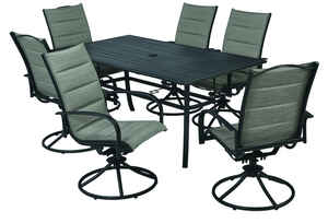 Living Accents  7 pc. Brookstone  Dining Set  Neutral