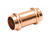Mueller Streamline  Streamline  3/4 in. Press   x 3/4 in. Dia. Press  Copper  Coupling