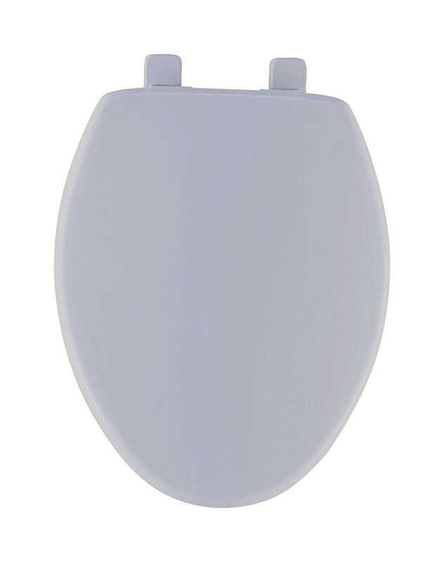 Mayfair  Slow Close Elongated  Bone  Plastic  Toilet Seat