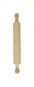 Bene Casa  18 in. L x 2 in. Dia. Wood  Rolling Pin